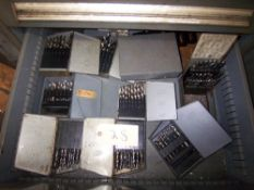 LOT OF DRILL INDEX BOXES & CONTENTS