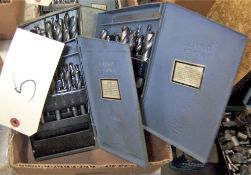(3) DRILL INDEX BOXES & CONTENTS