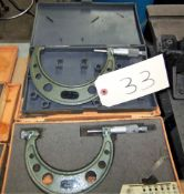 (2) ASSORTED MITUTOYO MICROMETERS