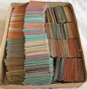 Huge quantity (approx 5,000) of 1940s London Transport Trams PUNCH TICKETS. A good mixture of part-