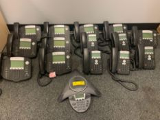 PolyCom IP Phones, (9) IP550, (5) IP331, (1) IP6000 Conference Phone