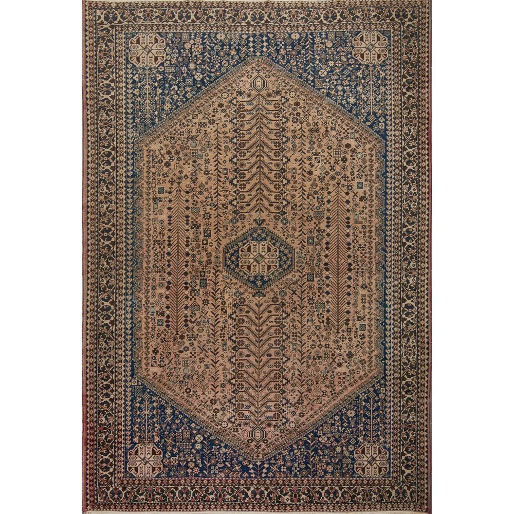 Lot 26 - TAPPETO Abadeh, trama e ordito in cotone, vello in lana. Persia XX secolo Misure: cm 305 x 210