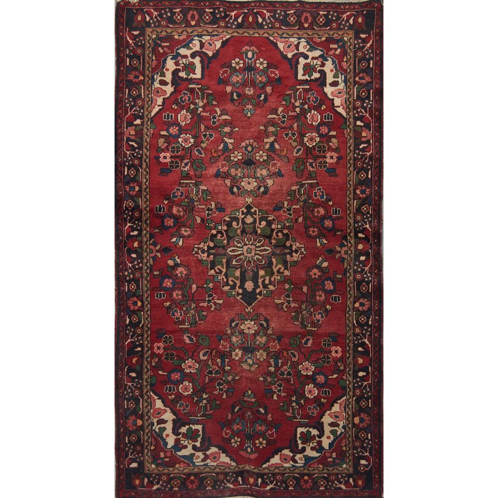 Lot 43 - TAPPETO Lilian, trama e ordito in cotone, vello in lana. Persia XX secolo Misure: cm 241 x 132