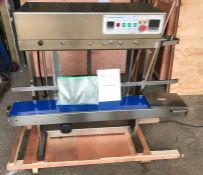 BRAND NEW FRL-600 CONTINUOUS BAG SEALER