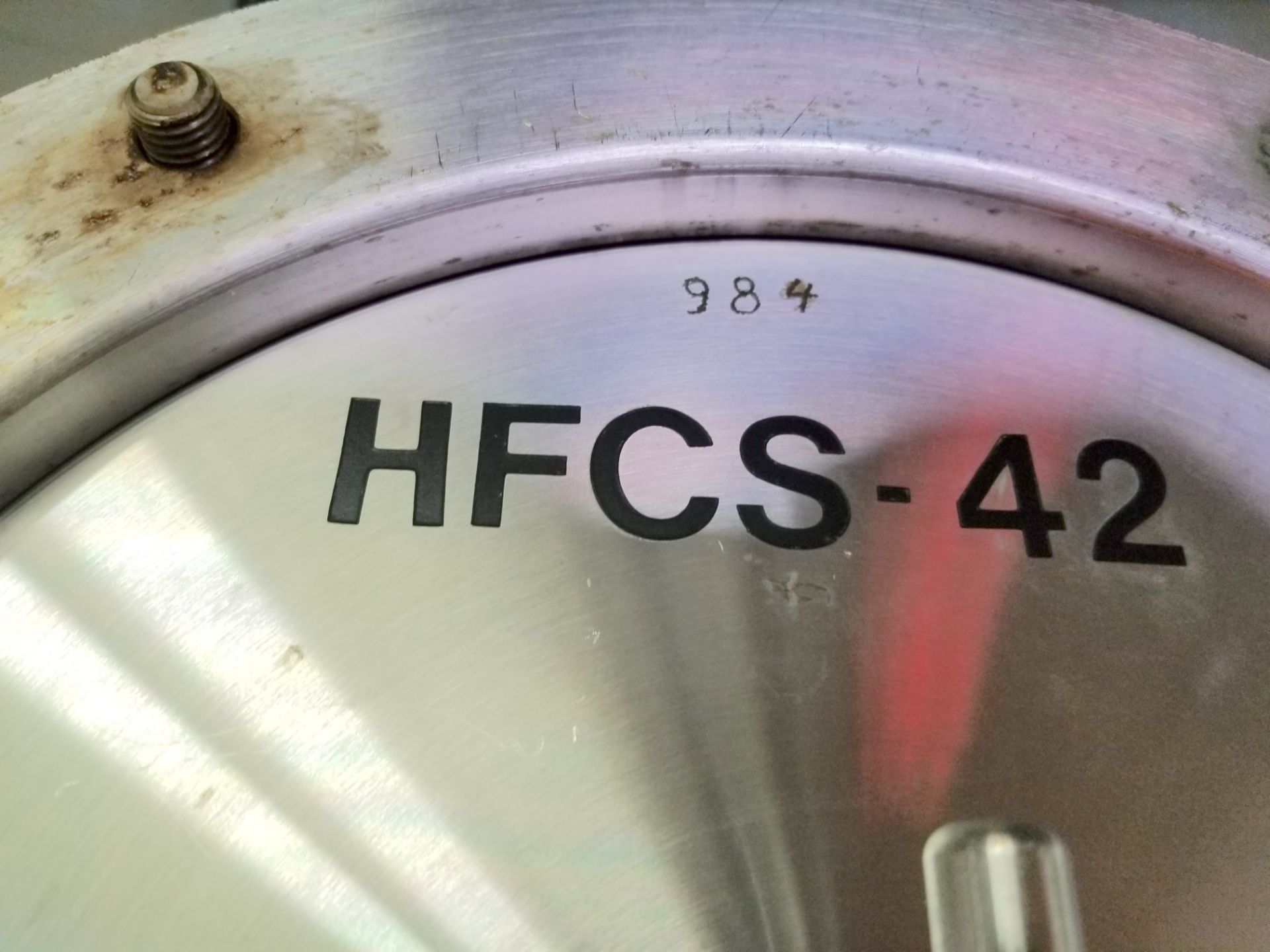 HCFS-42 Corn Syrup Flow Meter 3 Inch Connections - Image 2 of 4