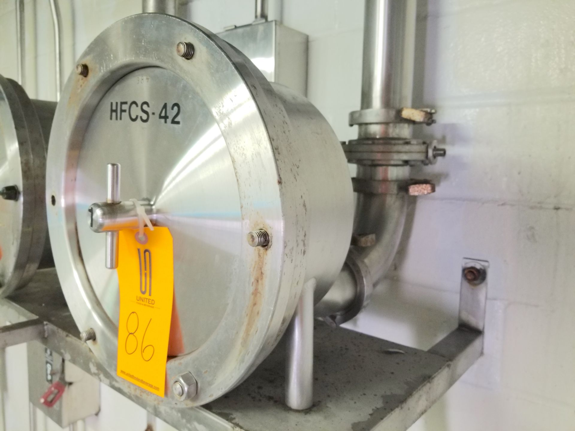 HCFS-42 Corn Syrup Flow Meter 3 Inch Connections - Image 3 of 4
