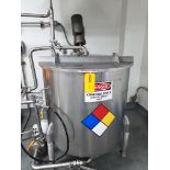 Perm-San 170 Gallon Vertical Batch Mixing Tank