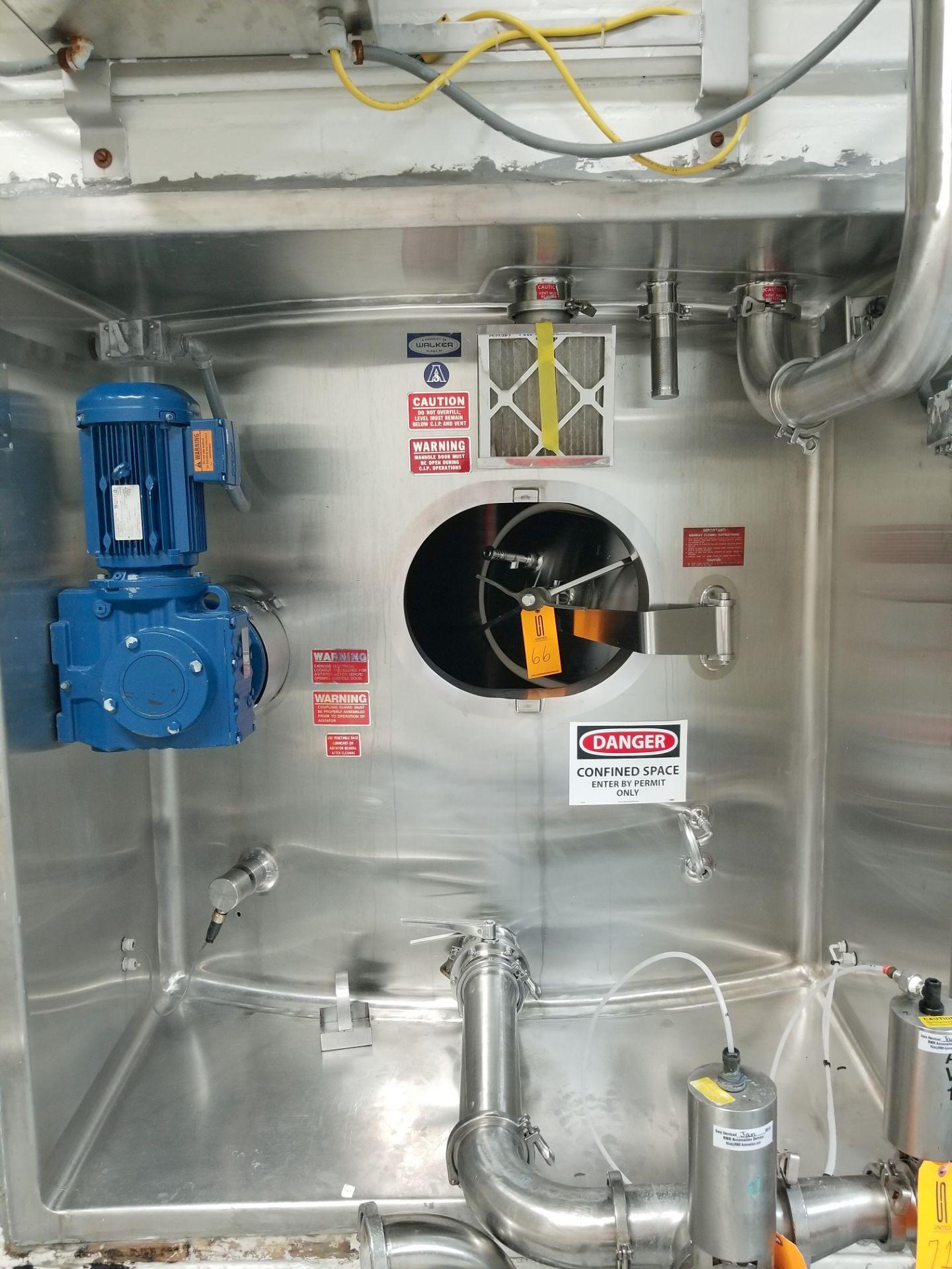 Walker 20,000 Gallon Jacketed Vertical Sugar Storage Silo - Image 2 of 11