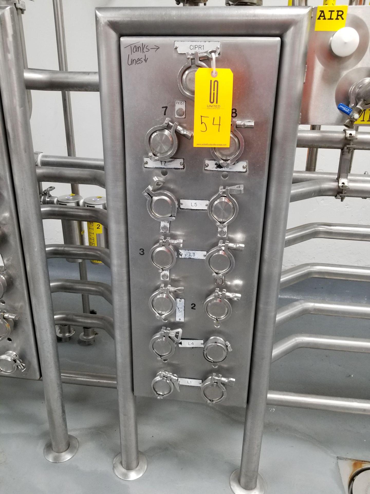 13 Port Divert Panel