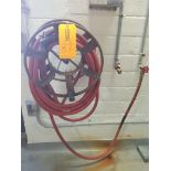 Hose Reel with Red Hose