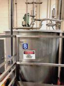 Vertical 750 Gallon Mix Tank