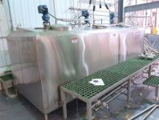 Tri Vessel Flavor Compartment Mixing Tank