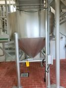 Stainless Steel Grinder Tank with Conveyor System