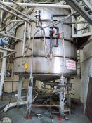 3000 Gallon Vertical Mixing Tank