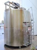3000 Gallon Vertical Mixing Tanks