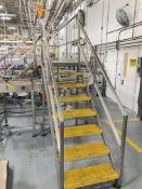 Stainless Steel Conveyor Crossover Platform