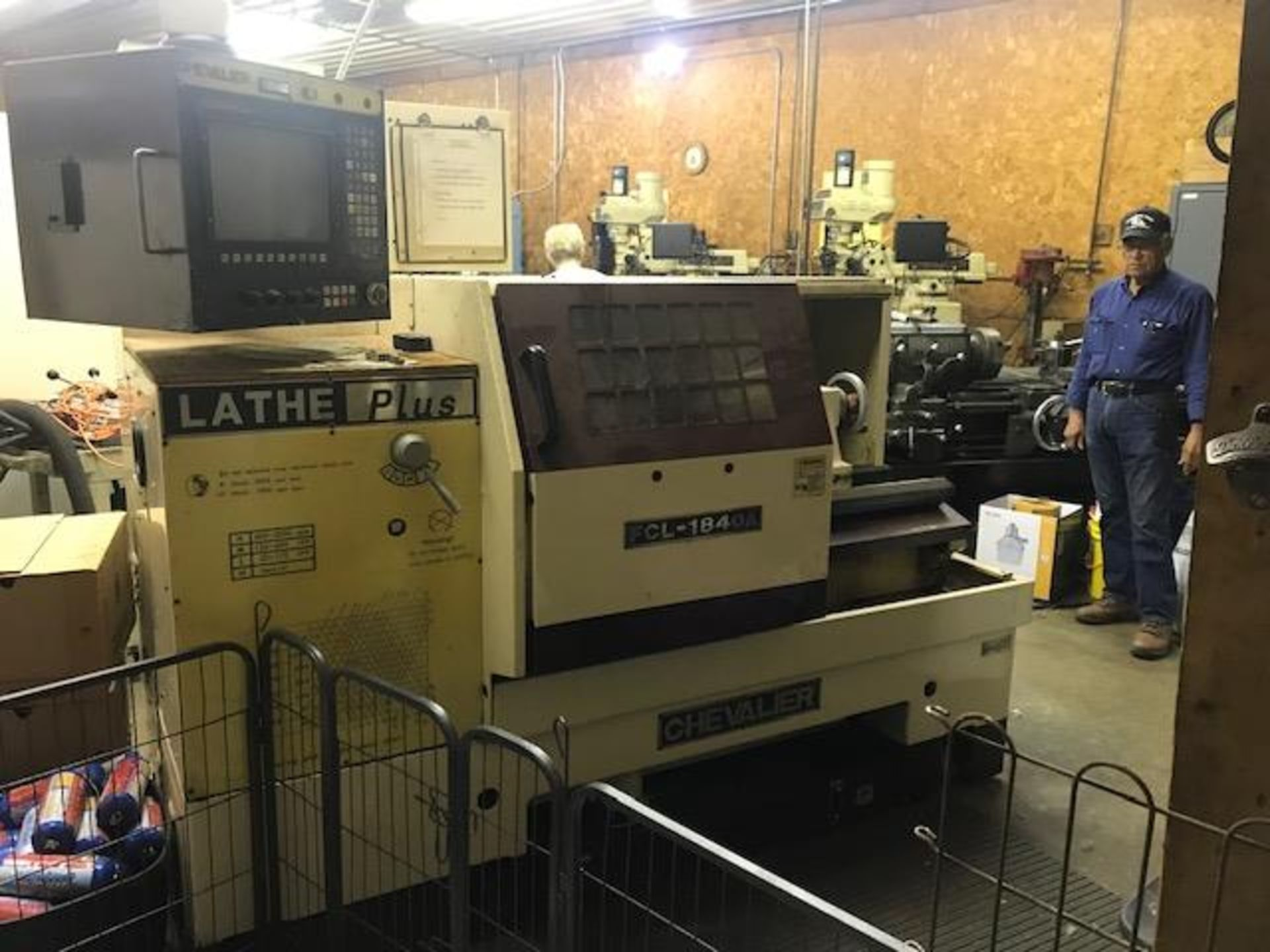 Lot 2 - CHEVALIER LATHE-PLUS, MODEL FCL - 1840A, ANILAM 1200T DRO, S/N X1864014 (LOCATION: SOUTH BEND,