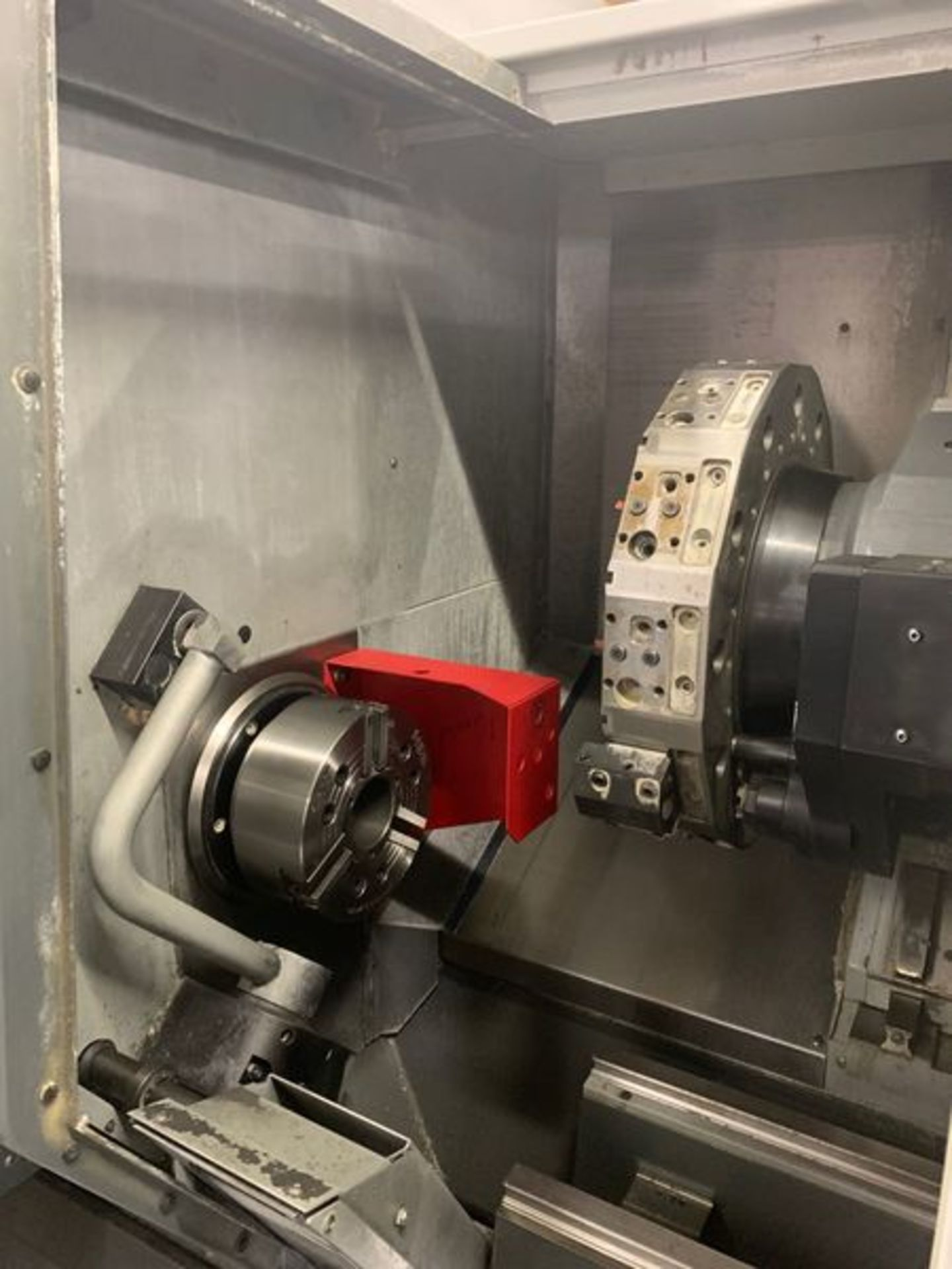 "Lot 3J - 2013 HAAS ST-30SSY CNC TURNING CENTER, CHUCK SIZE: 10"", BAR CAPACITY: 3""; EQUIPPED WITH: HAAS CNC CO"