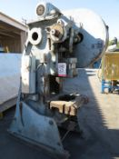 "45 TON X 4"" NIAGARA O.B.I. PUNCH PRESS, MODEL A3-1/2, AIR CLUTCH & BRAKE, AIR COUNTER BALANCE,"