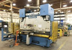 250 TON X 10' PULLMAX OPTIMA CNC HYDRAULIC PRESS BRAKE, MODEL 250.3.1/2.55, CYBELEC MODEVA 10S 6-