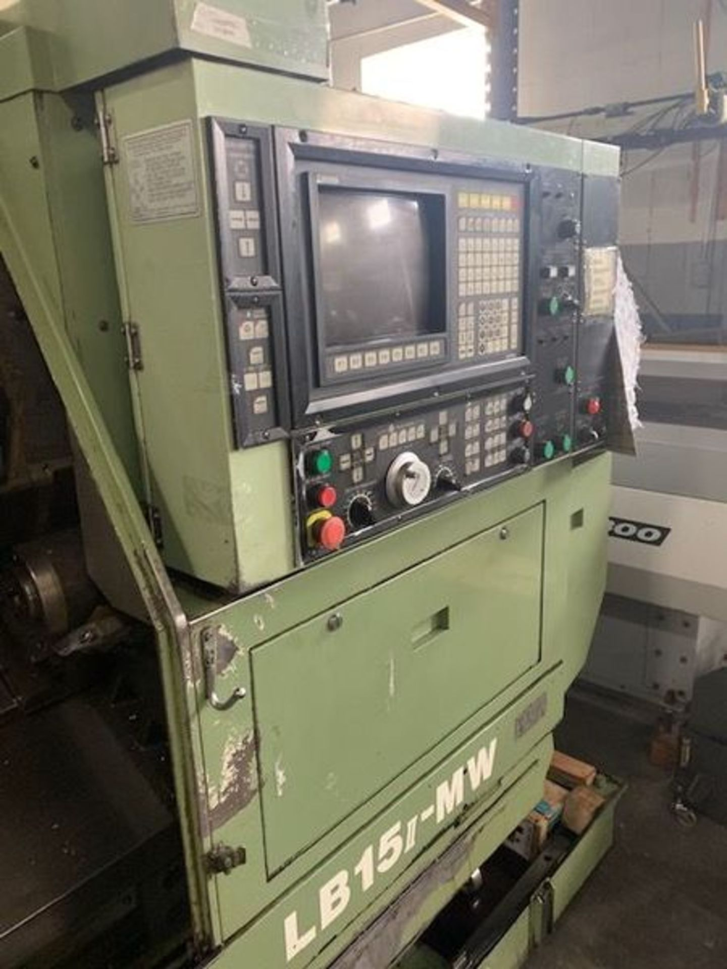 """Lot 3H - OKUMA LB-15II-MW CNC TURNING CENTER, X-AXIS TRAVEL: 5.91"""", Z-AXIS TRAVEL: 20.47"""", SWING OVER BED: 15"""