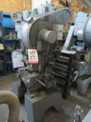 15 TON PERKINS HIGH SPEED PUNCH PRESS, MODEL 15-S, AIR CLUTCH & BRAKE, BATCH COUNTER, EMERGENCY