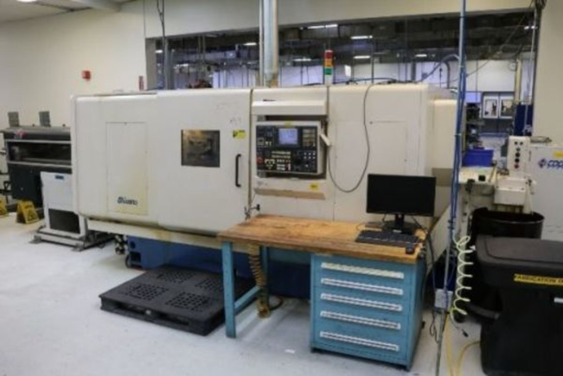 """Lot 3 - 2005 MIYANO BNE-64SY2 CNC MULTI-AXIS TURNING CENTER, 2-TURRETS, Y-AXIS, SUB-SPINDLE, 8"""" CHUCK SIZE,"""