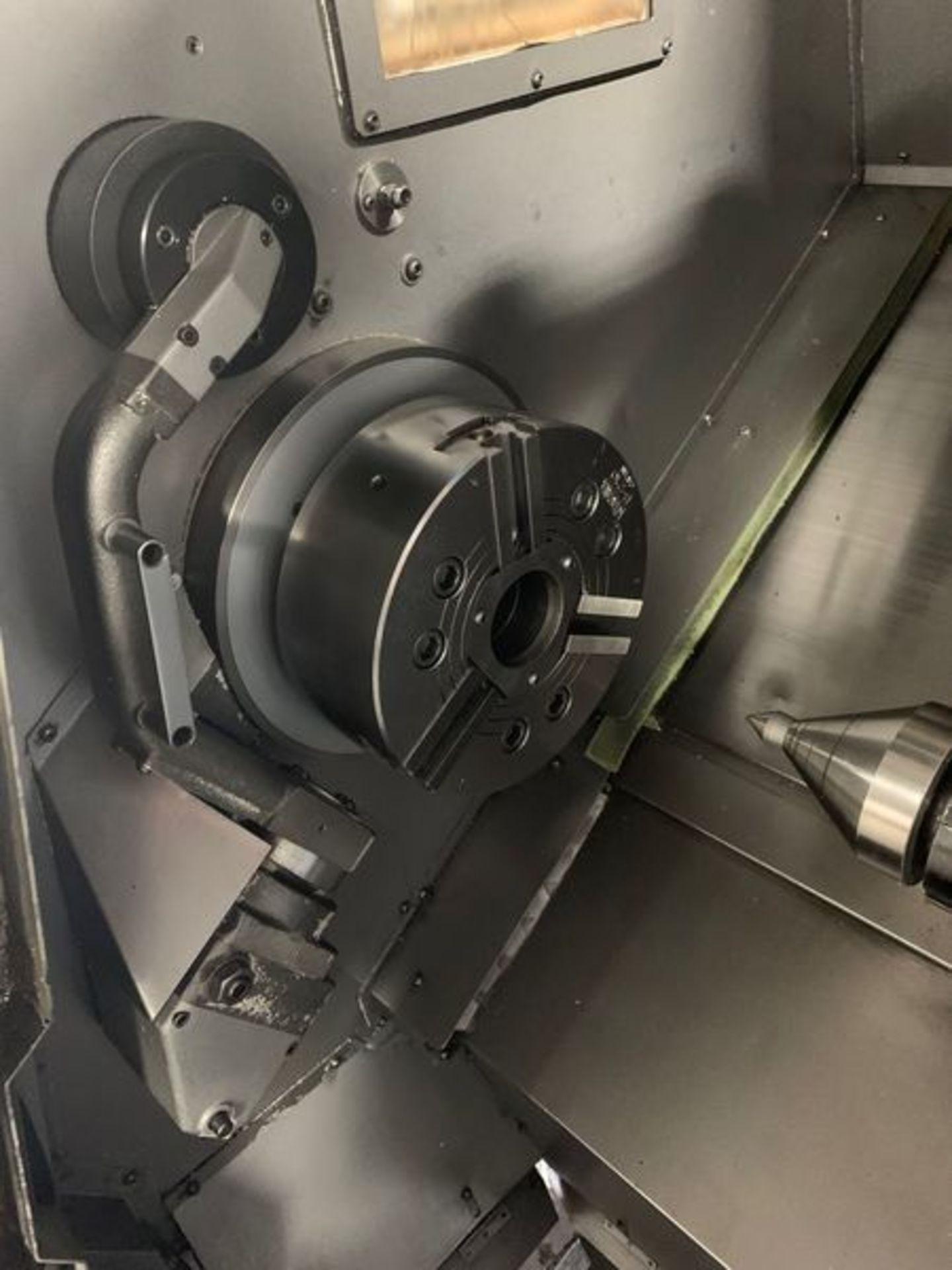 "Lot 3M - 2006 OKUMA CAPTAIN L370 CNC TURNING CENTER, 20"" SWING, 20"" MACHINING LENGTH, 10"" CHUCK, 2"" BAR CAPAC"