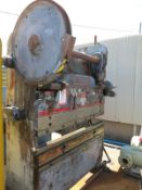 100 TON X 6' CINCINNATI HEAVY DUTY MECHANICAL PRESS BRAKE, MODEL SERIES 4, MECHANICAL CLUTCH, AUTO