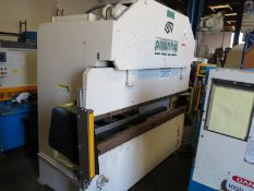 65 TON X 8' PIRANHA CNC HYDRAULIC PRESS BRAKE, MODEL 6508, MERLIN ISB LIGHT CURTAINS, AUTOMEC CNC