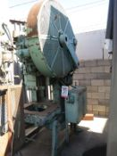 "60 TON X 3 1/2"" BLISS OBI PUNCH PRESS, MODEL 21 1/2, MOTORIZIED RAM ADJUSTMENT, AIR CLUTCH & AIR"