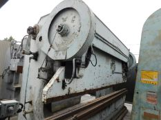 240 TON X 16' STEELWELD MECHANICAL PRESS BRAKE, MODEL H3 1/2-12 (M), MECHANICAL CLUTCH & BRAKE, FULL