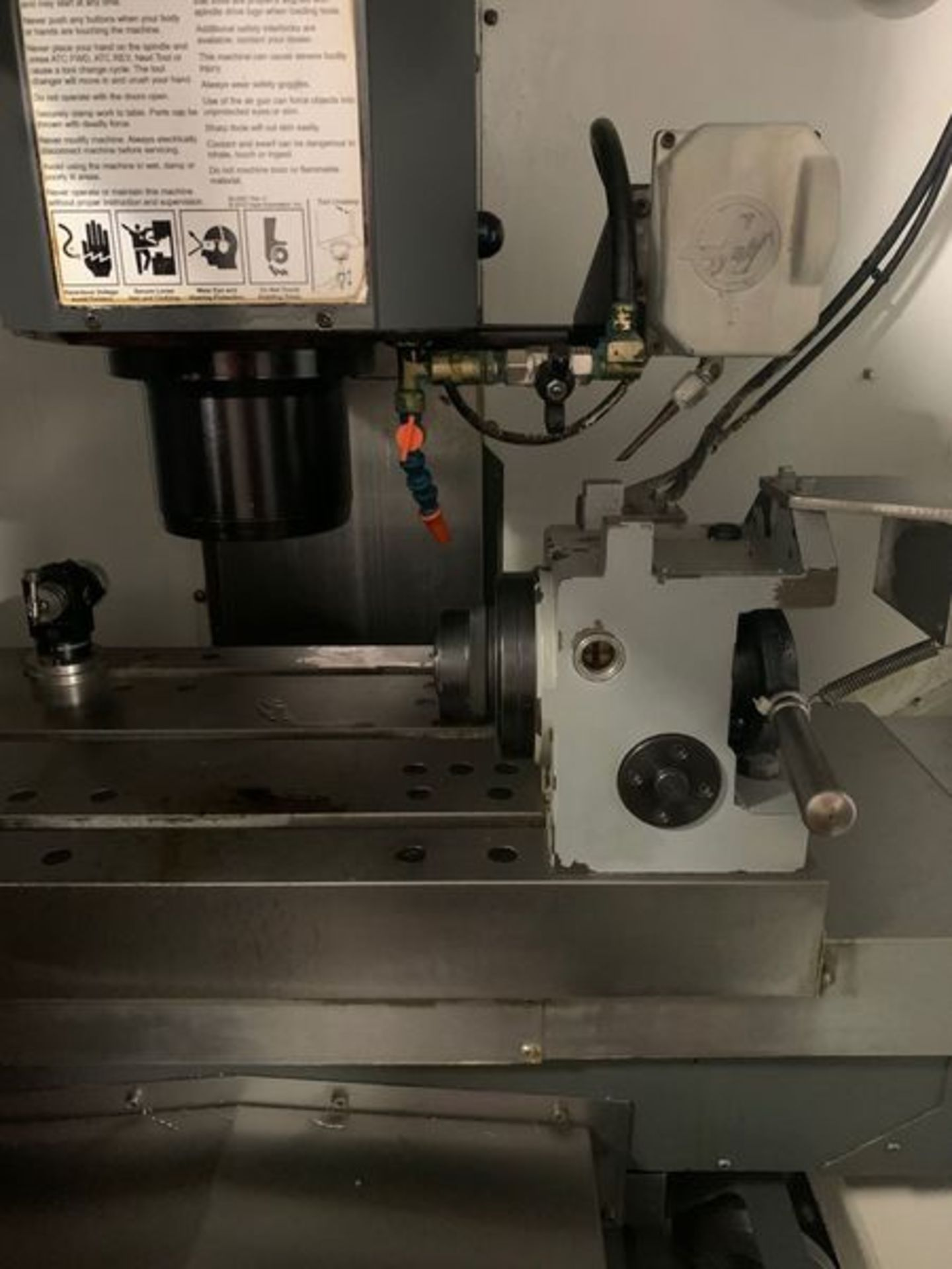 """Lot 3A - 2011 HAAS DT-1 DRILL & TAPPING CENTER W/ PROBING, SPECIFICATIONS: TABLE SIZE: 26"""" X 15"""", MAX WEIGHT"""