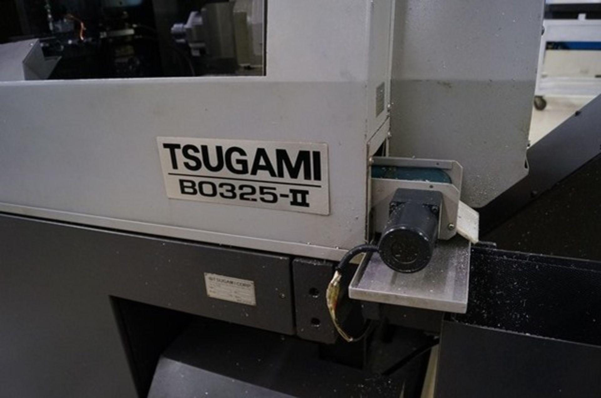 Lot 3F - 2014 TSUGAMI BO325II CNC SWISS LATHE, HIGH PRESSURE COOLANT, LNS ALPHA 538 MAGAZINE BAR FEED, CAPACI