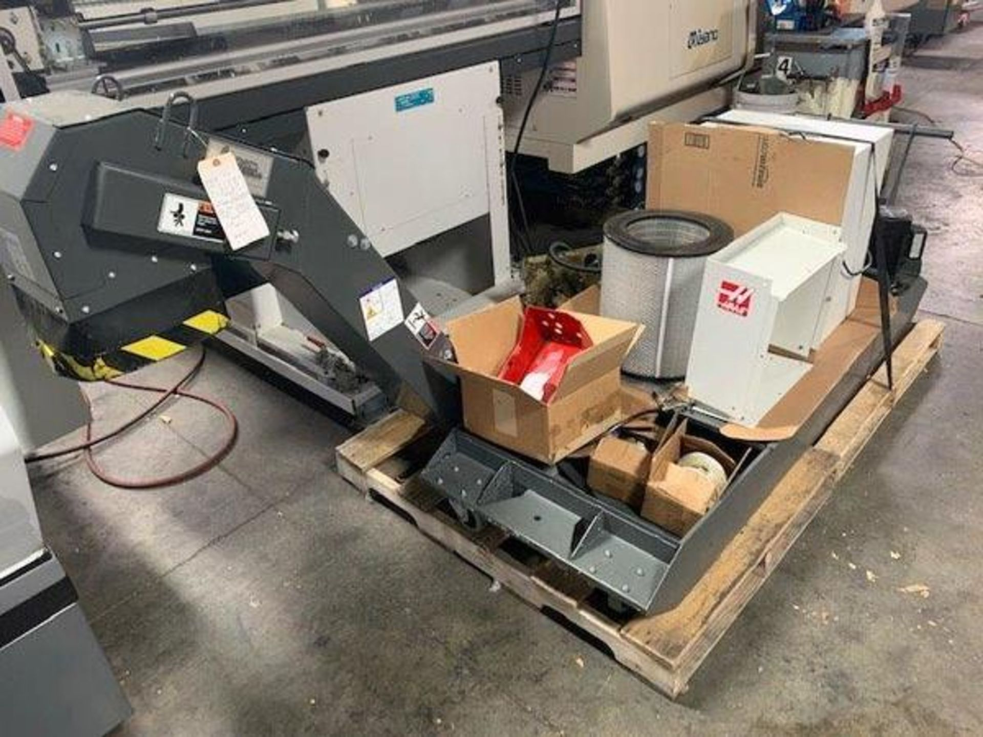 "Lot 3K - 2017 HAAS ST-20 CNC TURNING CENTER, CHUCK SIZE: 8"", BAR CAPACITY: 2"", EQUIPPED WITH: HAAS CNC CONTRO"