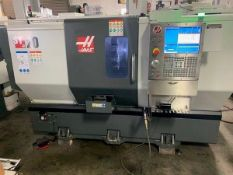 "2017 HAAS ST-20 CNC TURNING CENTER, CHUCK SIZE: 8"", BAR CAPACITY: 2"", EQUIPPED WITH: HAAS CNC CONTRO"
