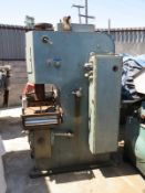 "25 TON X 6"" DAKE NORTAMATIC HYD PRESS, MODEL 51-150, DAKE 15"" X 0.002"" - 0.125"" FEEDER, 0.010"" -"