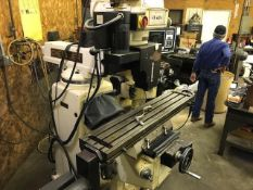 CHEVALIER VERTICAL KNEE MILL, MODEL PROTO TRAK M3, MODEL #FM-32KP, S/N KP86B004 (LOCATION: SOUTH