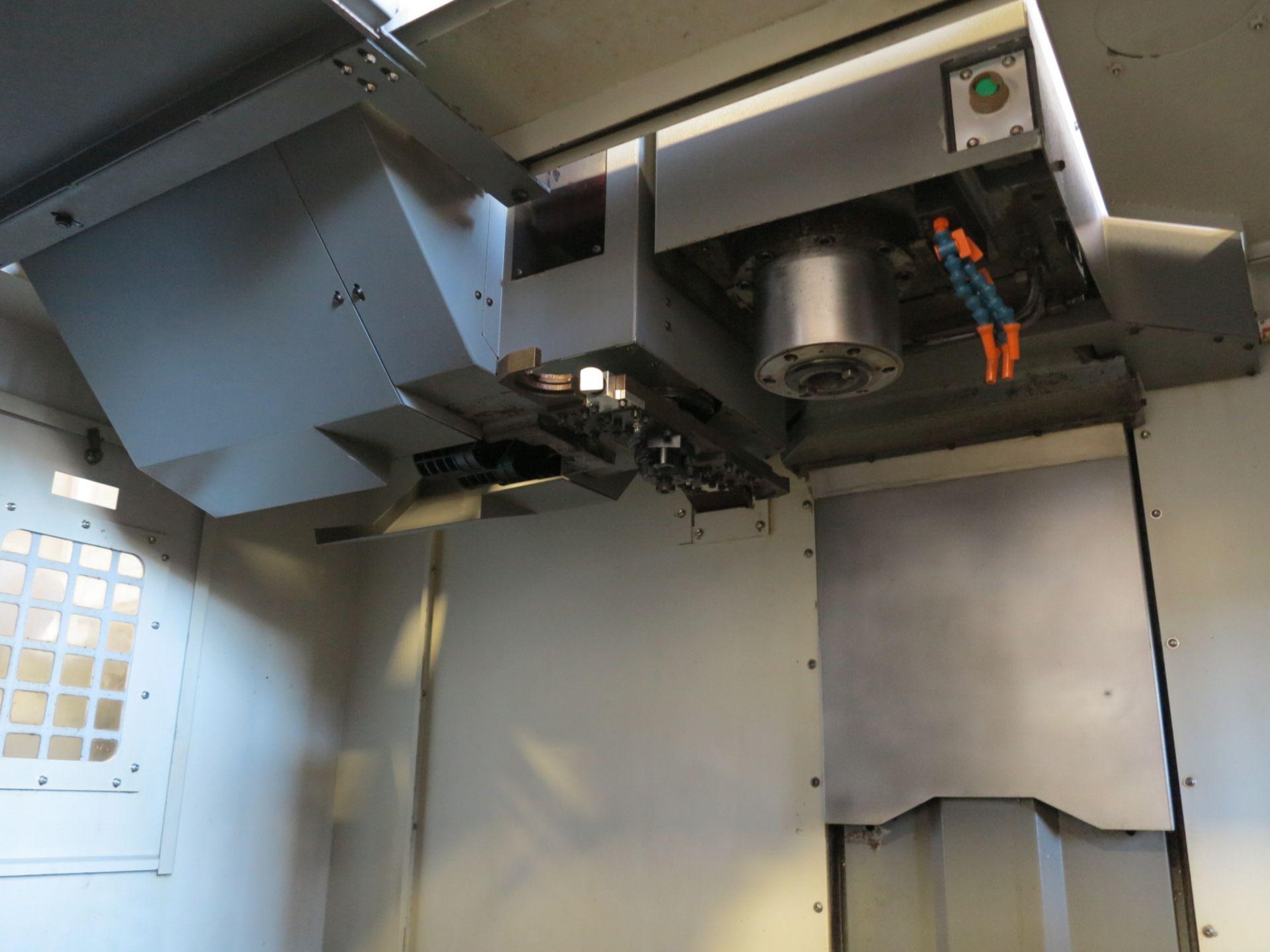 "Lot 6 - 40"" X 20"" X 20"" SAMSUNG VERTICAL MACHINING CENTER, MODEL MCV-50, 10"" LCD CNC CONTROL CONTROLLER,"