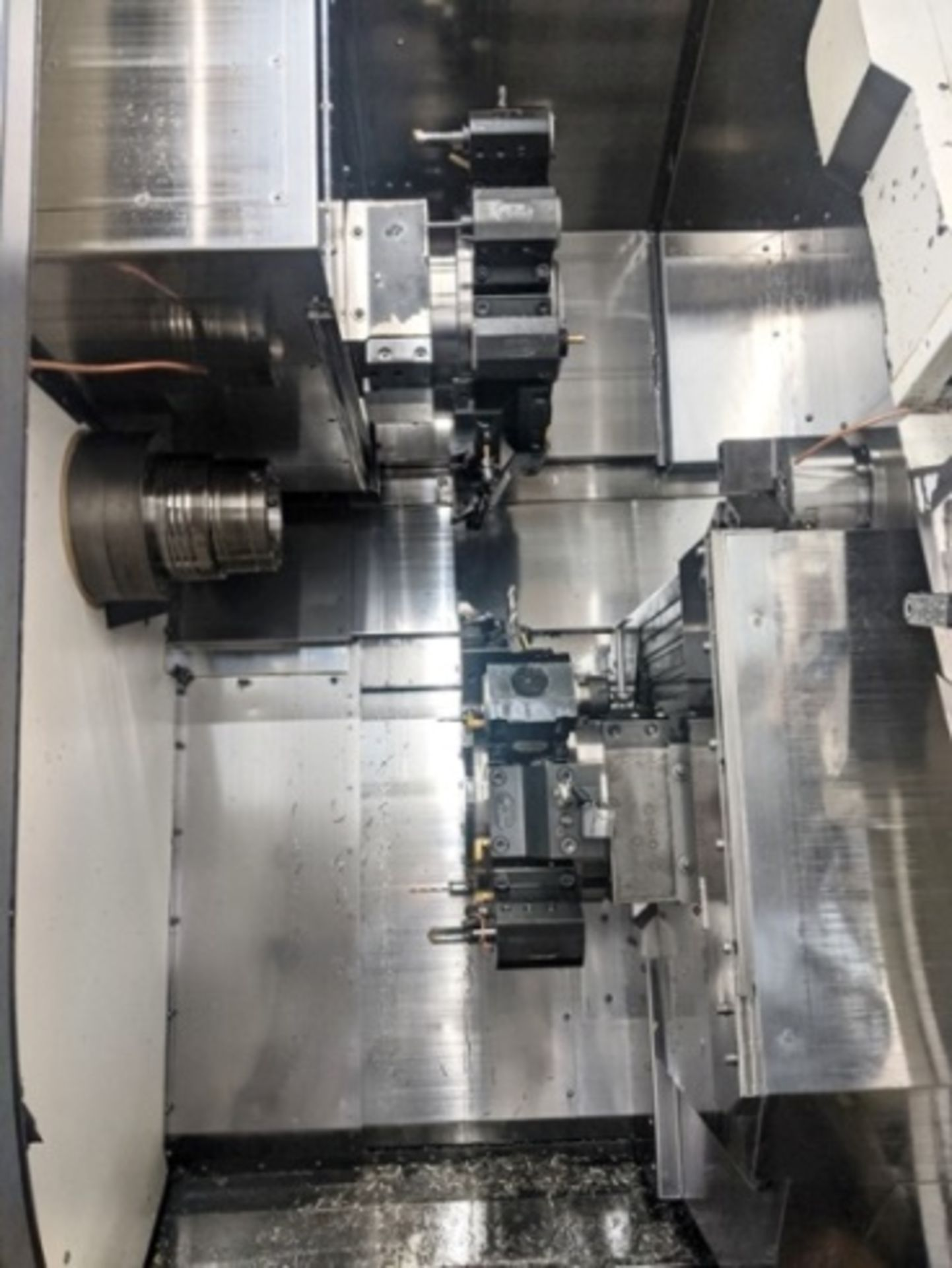 """Lot 1 - 2011 NAKAMURA TOME WY-250MMYY CNC TURNING CENTER, 10"""" CHUCK, 2.5"""" BAR CAPACITY, FANUC 31IT CNC CONTR"""
