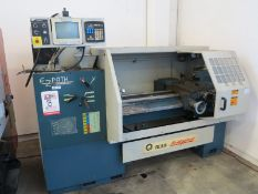 "16.5"" X 40"" BRIDGEPORT ROMI EZ PATH CNC LATHE, COOLANT SYSTEM, SPINDLE NOSE 2"", YEAR 1995 (LOCATION:"