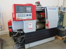 "8.7"" X 20.1"" EMCO 345 CNC TURNING LATHE (GREAT CONDITION), FANUC 21T CNC CONTROL, 3J COLLET CHUCK,"