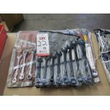 LOT - (2) COMPLETE COMBINATION WRENCH SETS