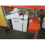 LOT - APPROX. (15) STEEL BINS, MADE FOR VARIOUS USES
