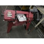 CENTRAL MACHINERY HORIZONTAL/VERTICAL METAL CUTTING BAND SAW, ITEM 62377