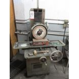 """LOT - HARVEL SURFACE GRINDER, W/ 6"""" X 12"""" MAGNETIC CHUCK, ALSO INCLUDES ASSORTMENT OF GRINDING"""
