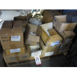"""LOT - PALLET OF CLEAR POLY BAGS IN VARIOUS SIZES: 7"""" X 9"""", 6"""" X 12"""", 9"""" X 12"""", 15"""" X 18"""", ETC."""