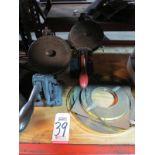 LOT - (2) ROOVERS BROS. METAL TAPEWRITER, W/ METAL TAPE