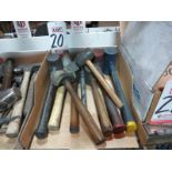 LOT - ASSORTED RUBBER HAMMERS
