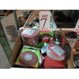 """LOT - 4-1/2"""" COATED ABRASIVE FIBRE DISCS AND OTHER MISC ABRASIVE DISCS"""